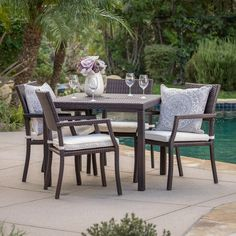 Under $600 Dining Sets: Provide the perfect way to enjoy a great meal outdoors surrounded by natural beauty. Free Shipping on orders over $45!