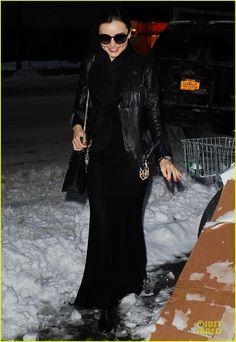 Miranda Kerr: Snowy Salon Stop in the New Year! | miranda kerr snowy salon stop in the new year 08 - Photo