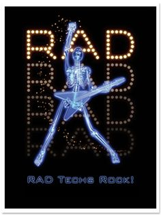 This just makes me laugh. Rad Tech Week!
