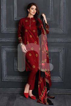 Nishat Linen Fall Winter Pret Dresses Collection 2016, Pakistan.