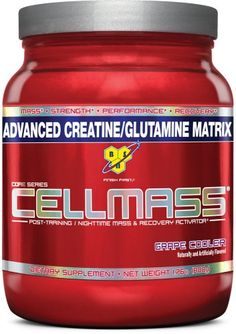 BSN Cellmass Creatine Post-Training NightTime Mass and Recovery Activator, GrapeCooler,  Pound 1.76