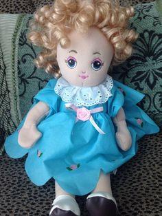 Sugar Loaf Creations Plush Doll Soft & Cuddly Fully Dressed