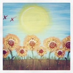 Sunflowers Sunflowers, My Arts, Tapestry, Painting, Home Decor, Hanging Tapestry, Painting Art, Interior Design, Paintings
