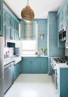 Kék - Konyha, konyhabútor szín ötletek - a legnépszerűbb színárnyalatok