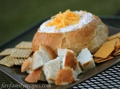 Bacon Cheese Dip in Sourdough Breadbowl (Favorite Family Recipes)