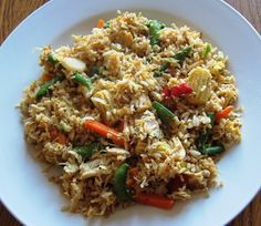Chicken And Rice Stir Fry #Recipe With Frozen Vegetables - great way to use #leftovers - from melaniecooks.com