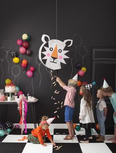 DIY Tiger Pinata from Merrilee Liddiard's book PLAYFUL