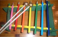 What an awesome pencil xylophone!