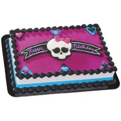 Monster High Frame and Skullette DecoSet Cake Decoration