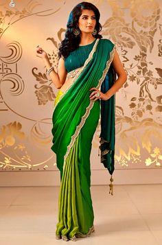 Beautiful Bridal Saree Collection 2013 By Satya Paul (7)