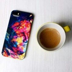 Simone Munari takes a cup of coffee with Paul #TwentyfiveSeven #PaulNewman #cover #iphone5 #iPad #illustration #Kaneda #hinnovation #habrastudio
