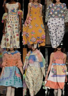 Graduate Fashion Week 2013   Print & Pattern Highlights catwalks