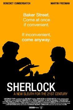 Come at once if convenient. If inconvenient, come anyway. #AETN #BeMore #Sherlock