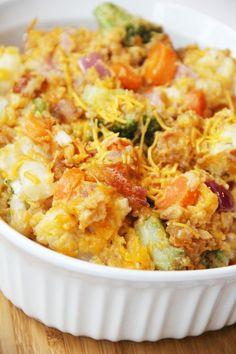 California Blend Vegetable Casserole: I make something very similar that I LOVE. Jill