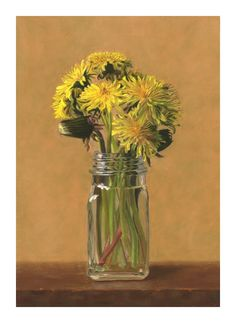 """""""Dandelions"""" original fine art by Susan Fern"""