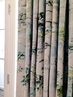 Our new curtains have arrived by @JessicaZoobArt. They are the prettiest things I've ever seen. That is all.