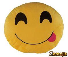 Zemojis Emoticon Soft Stuffed Cushion Emoji Throw Pillows (Face Savoring Delicious Food) Zemojis http://www.amazon.com/dp/B0170OMZJ2/ref=cm_sw_r_pi_dp_PmDzwb1NGJZEN