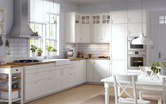 Luxury white kitchen design ideas (48)