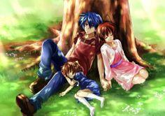 Tomoya, Nagisa and Ushio <3