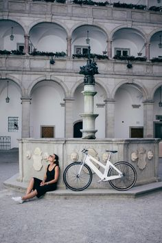 My Esel - the prettiest bike. Made out of wood. This one is our fav - white edition & ebike Making Out, Bike, Wood, Pretty, Bicycle, Summer, Woodwind Instrument, Timber Wood, Bicycles