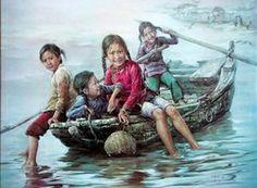 Girls On Sampan Kee Fung Ng (1941, Chinesem