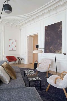 Apartment Trocadero by Rodolphe Parente // Paris.