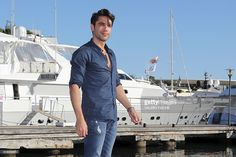 Turkish actor Kadir Dogulu poses during a photocall for the TV serie 'Wings of love' as part of the MIPCOM (The world's entertainment content market), on October 18, 2016 in Cannes, southeastern France. / AFP / VALERY