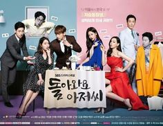 2016* Come Back Ajushi -- 돌아와요 아저씨 [i rate this show: 7/10] it's not bad, but it's not great either. Rain is reason enough to watch this. What an eye candy
