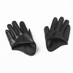 $6.85 Pair Of Stylish Solid Color Faux Leather Half Palm Gloves For Women. I've been looking for a pair like this forever!!!