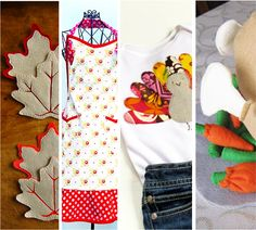 10 Free Thanksgiving Sewing Patterns and Templates