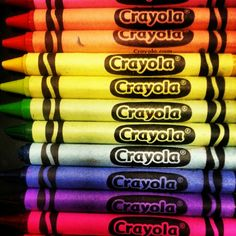 Crayons. Love them!