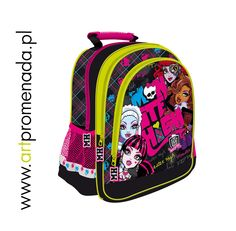 Monster High plecak- Monster High school bag 15""