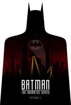 Batman: The Animated Series by drMierzwiak