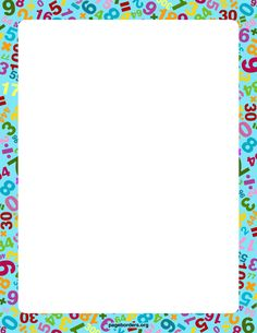 Math Border  2 Math Border  Free Cliparts That You Can Download To You