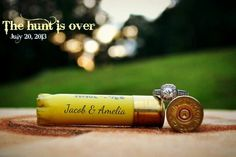 I thought about doing this for our wedding too. Such a cute idea for our redneck wedding!