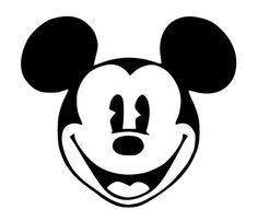 Mouse Face Decal, $4.00