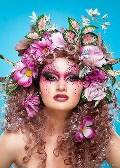 ideas makeup ideas fantasy purple 24 + Ideen Make-up Ideen Fantasie lila Fantasy Make Up, Fantasy Hair, Fairy Makeup, Makeup Art, Makeup Ideas, Flower Makeup, Mermaid Makeup, Maquillage Halloween, Halloween Makeup