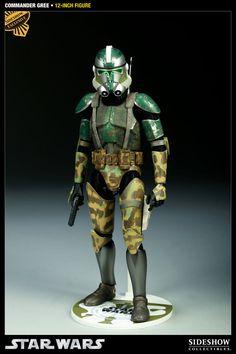 Figura Star Wars. Commander Gree, 30cm. Sideshow Collectibles
