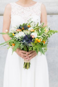 Kumquats & all #bridalbouquet at Stable Cafe in SF