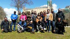 Foto de familia del #curso de #cetreria que realizamos este pasado fin de semana en #segovia  Halconeros de Castilla  www.halconerosdecastilla.com