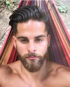 Bearded Men: 49 Amazing Beards And Hairstyles For Modern Men. Beard Styles For Men, Hair And Beard Styles, Hair Styles, Great Beards, Awesome Beards, Mens Hairstyles With Beard, Haircuts For Men, Beautiful Men Faces, Gorgeous Men