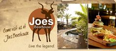 The Best Known Restaurant in Namibia - Joe's Beerhouse! Visit us for our Namibian cuisine with a German twist, the best steak in town, the coldest beer & the friendliest service.
