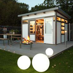 Gartenhaus In Abendstimmung