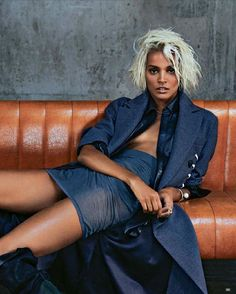 Liya Kebede for Marie Claire France, October 2014 Photographer: Tiziano Magni Source: StyleVitae.com