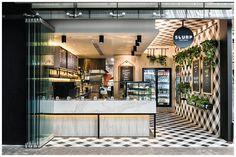 Restaurante-bar de sopas e saladas na Austrália, com uma proposta super diferente e com design inovador e visual de picnic.