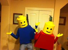 Lego Man Costume on Instructables