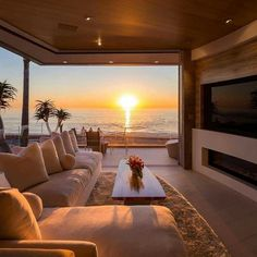 This view though! Marine Lair is designed by Matrix Design Studio Stosh Thomas Architects and is located in // Photo courtesy of Rachael Kaiser - Architecture and Home Decor - Bedroom - Bathroom - Kitchen And Living Room Interior Design Decorating Ideas - Dream Home Design, Modern House Design, My Dream Home, Home Interior Design, Exterior Design, Room Interior, Interior Livingroom, Kitchen Interior, Future House