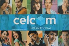 Celcom International SIM Card for the lowest IDD call rates and fast 3G Internet access.