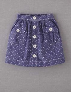I've+spotted+this+@BodenClothing+Spotty+Chambray+Skirt+Mid+Blue+Chambray