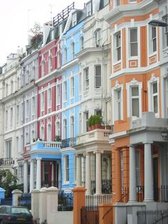 Notting Hill. Just want to walk up and down these beautiful streets alone.
